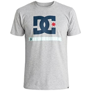 DC Flag Star T-Shirt - Heather Grey