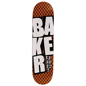 Baker Stacked Checkers Skateboard Deck - Kennedy 8