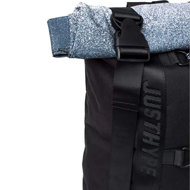 Hype Speckle Fade Roll Top Backpack
