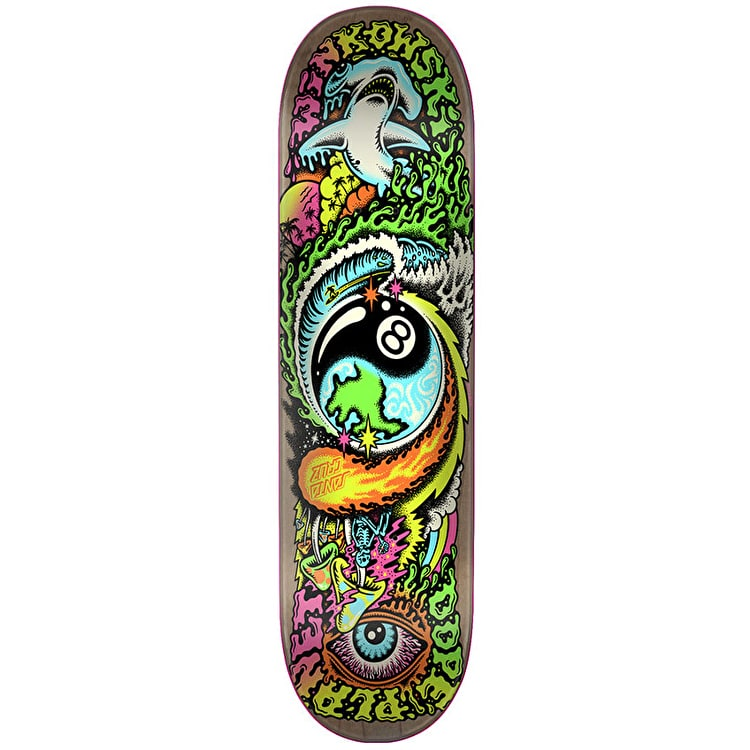 Santa Cruz Winkowski Dope Planet Skateboard Deck - 8""