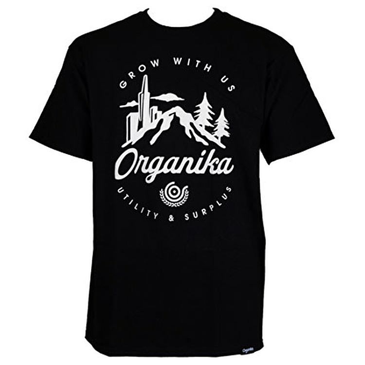 Organika City Nature T-Shirt - Black