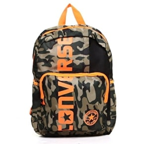 Converse Kids Backpack - Camo / Black / Citrus