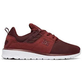 DC Heathrow Skate Shoes - Burgundy
