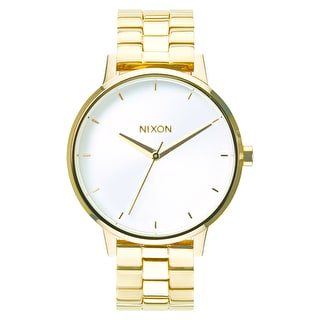Nixon Kensington Womens Watch - Gold/White