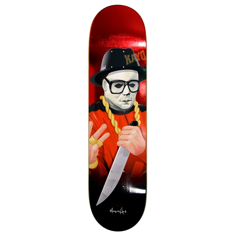 DGK G Killers Skateboard Deck - Quise 8.1""