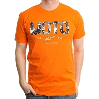 Alpinestars Motostart T-Shirt - Orange