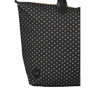 Mi-Pac Weekender Denim Spot Handbag - Black/White