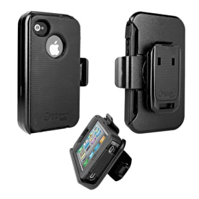 Otterbox Defender Series iPhone 4 Case - Black (B-Stock)