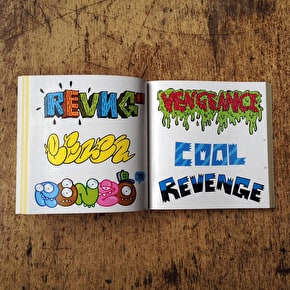 SRK Sticker Book - Stickerbomb Letters