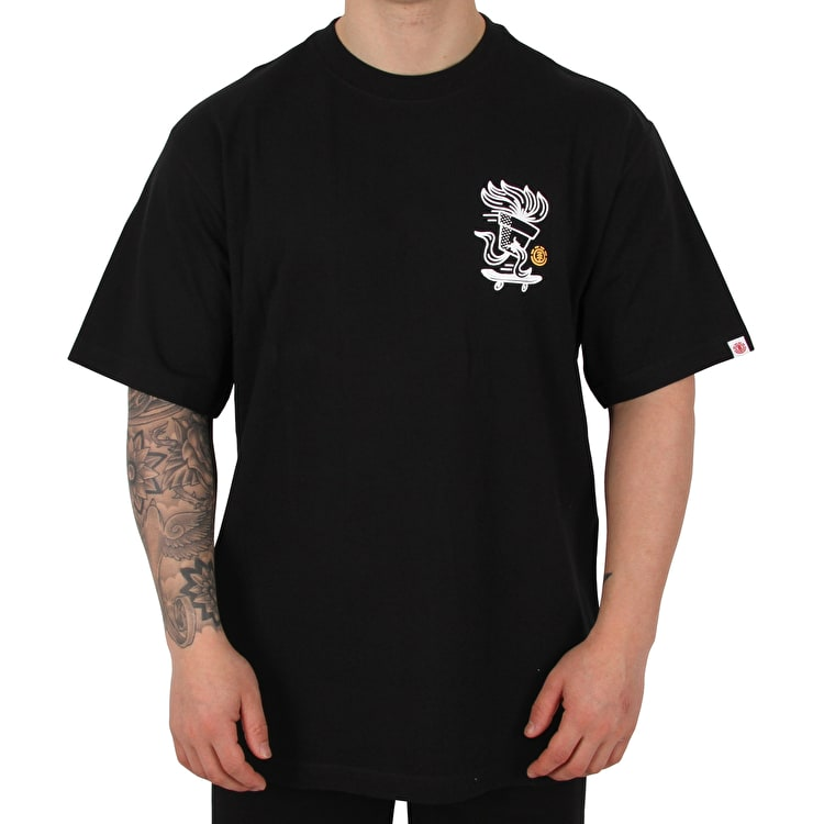 Element Roots T shirt - Flint Black