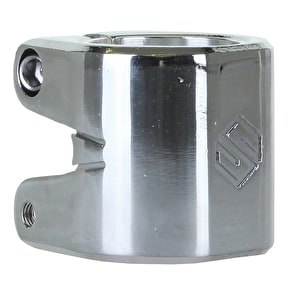 Striker Double Collar Clamp - Chrome