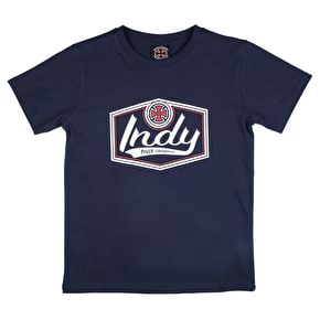 Independent Youth Patch T-Shirt - Navy