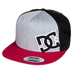 DC Heard Ya Cap - Chili Pepper/Grey Heather