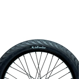 Tall Order Wallride BMX Tyre - Black 2.30