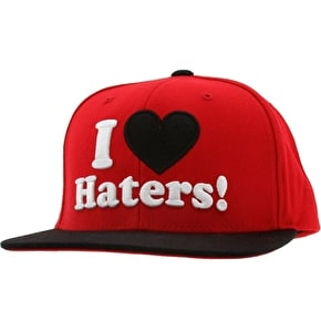 DGK Haters Cap - Red/Black