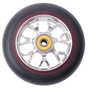 Eagle Sport 115mm X6 Double Layer Panther Scooter Wheels - Silver Core