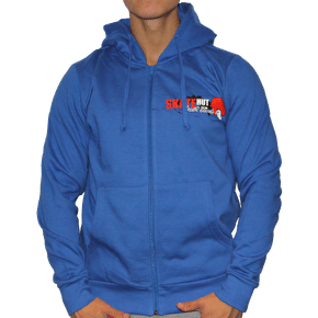 Skatehut Just Send It Zip Hoodie - Royal Blue