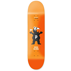 Primitive x Grizzly Najera Mascot Skateboard Deck - 8.25