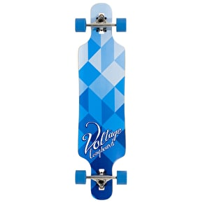 B-Stock Voltage Drop Through Complete Longboard - Blue 39'' (slight cosmetic damage to nose)