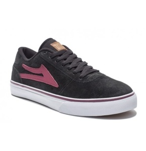 Lakai Manchester Shoes - Black Suede