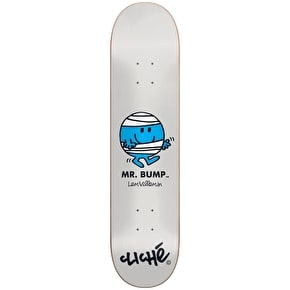 Cliche Skateboard Deck - Mr. Men R7 Villemin 7.75''