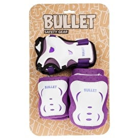 Bullet Blast Junior Triple Pad Set - Purple/White
