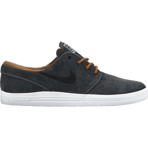 Nike SB Lunar Janoski Shoes - Anthracite/Black/Ale