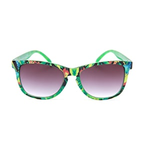 The Happy Hour Duncombe Sunglasses - Tropical Sunrise