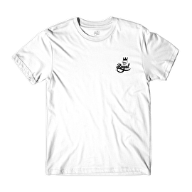 Royal Skull Script T-Shirt - White
