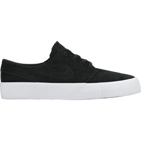 Nike SB Zoom Janoski HT Skate Shoes - Black/Black/White