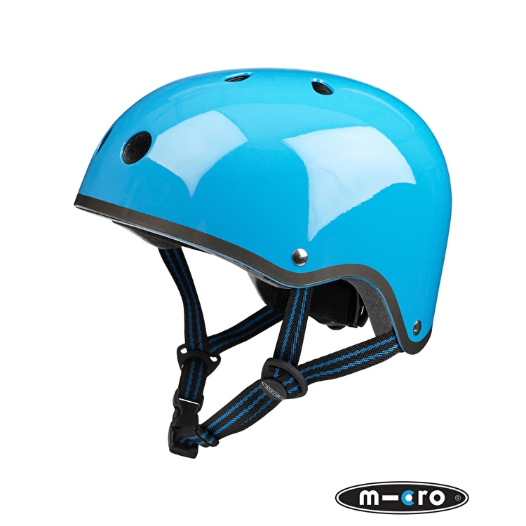 Micro Safety Helmet - Neon Blue