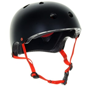 B-Stock Skatehut Essentials Helmet - Black/Red - XXS-XS 49-52cm (Box Damage)