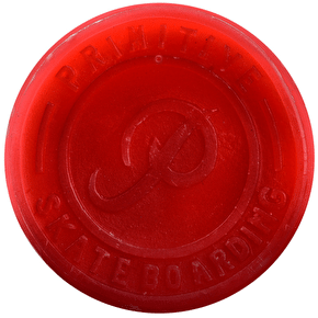 Primitive Classic Skateboard Wax - Red