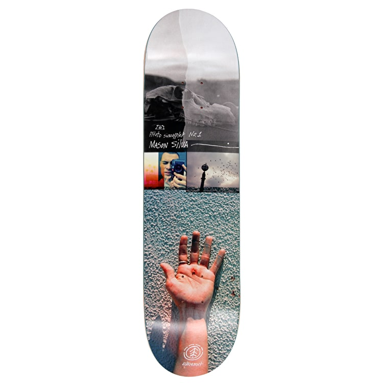 Element Mason Photo Sampler Featherlight Skateboard Deck - 8.25""