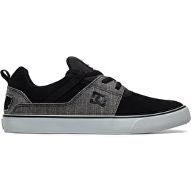 DC Heathrow V SE Skate Shoes - Black/Grey