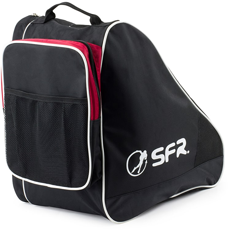 SFR Large Ice & Skate Bag II - Black/Red