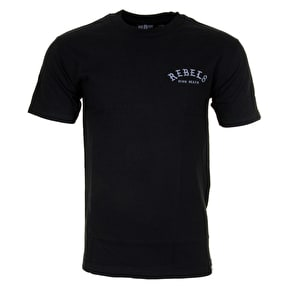 Rebel8 Slow Death T-Shirt - Black