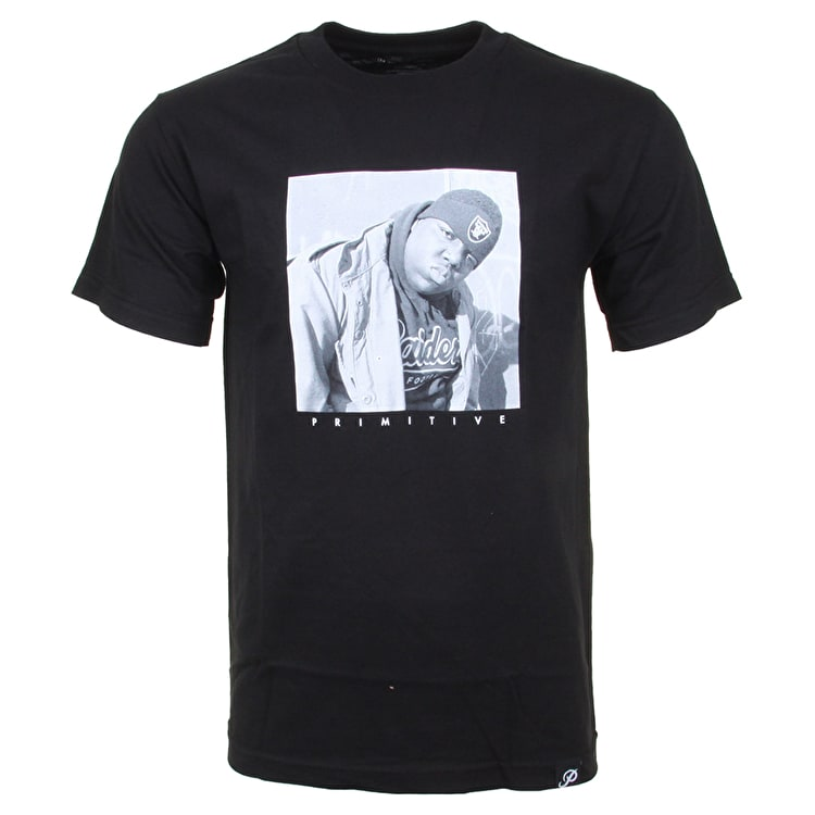 Primitive x Biggie Raider T-Shirt - Black