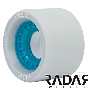 RADAR Presto Quad Derby Wheels 95A Wide - Blue 62mm