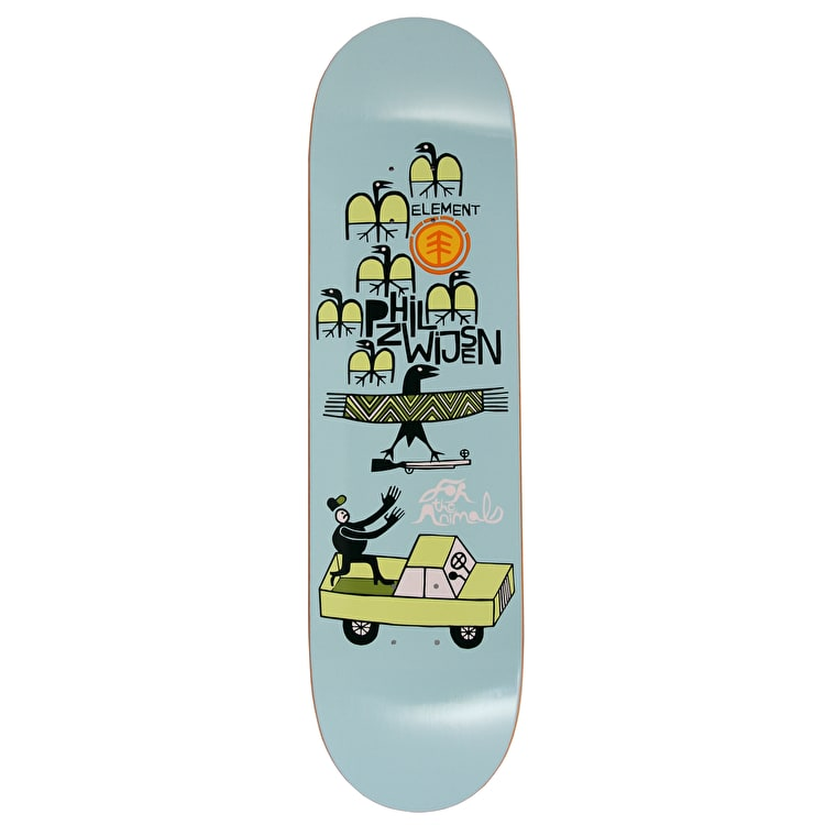 Element For The Animals Phil Featherlight Skateboard Deck - 8.25""