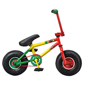 B-Stock Rocker Mini BMX - Rasta IROK (Box Damaged, Cosmetic Scratches)