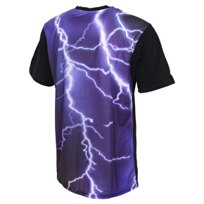 DGK Storm Custom Pocket T-Shirt - Black/Purple