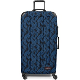 Eastpak Tranzshell L Wheeled Luggage - Leaves Blue