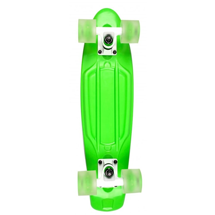 D Street Polyprop Neon Flash Cruiser - Green 23""