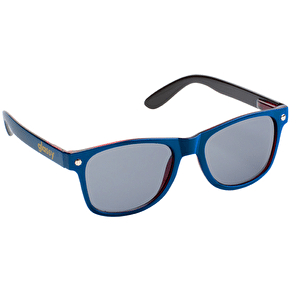 Glassy Sunhaters Leonard - Navy/Transparent Red