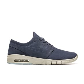 Nike SB Stefan Janoski Max L Skate Shoes - Thunder Blue/Light Bone