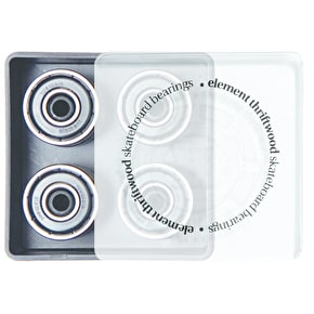 Element Thriftwood Black Skateboard Bearings - ABEC 3