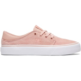 DC Trase Skate Shoes - Peach Parfait