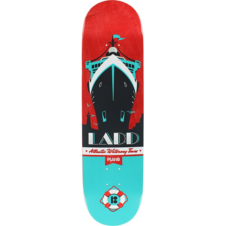 Plan B Pro Spec Ladd Open Seas Skateboard Deck - 8.25""