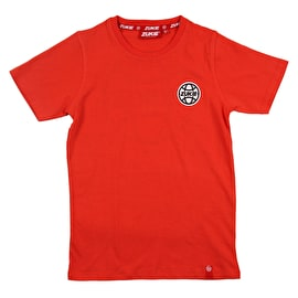Zukie Little & Large Kids T Shirt - Red